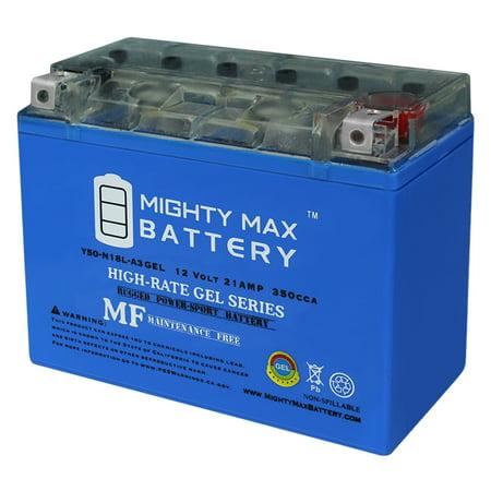 y50-n18l-a3 maintenance free gel motorcycle battery