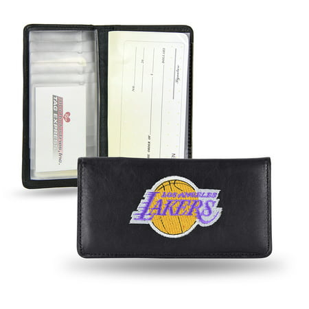 Los Angeles Lakers Checkbook Holder (Embroidered) by
