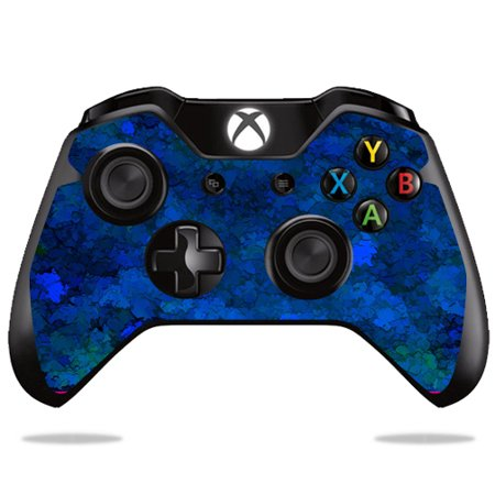 MightySkins Protective Vinyl Skin Decal for Microsoft Xbox One/ One S Controller Case wrap cover sticker skins Blue (Xbox Ice)