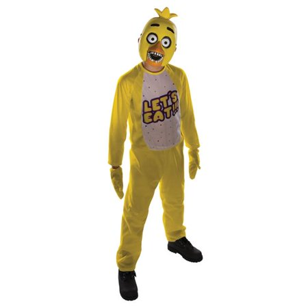 Morris Costume RU630101LG Five Nights At Freddys Chica Kids Costume, Large](Chica Costume)