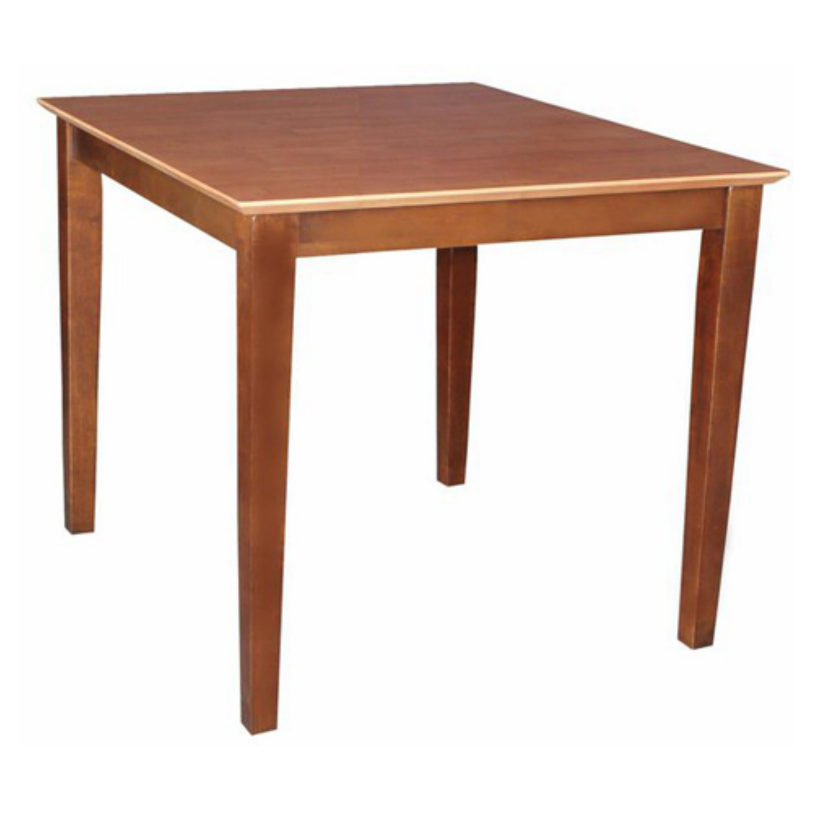 Solid Wood Top Table, Shaker Legs