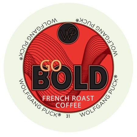 Wolfgang Puck Go Bold Coffee Keurig K-Cups - French Roast