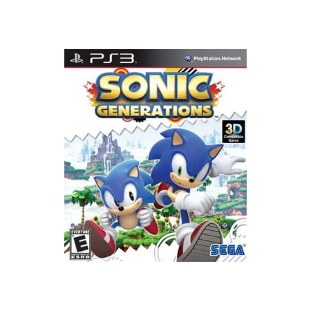Sonic Generations, SEGA, PlayStation 3,