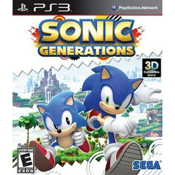 Sonic Generations Sega Playstation 3 010086690552 Walmart Com