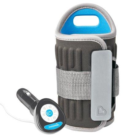 - Munchkin Travel Car Baby Bottle Warmer, Grey
