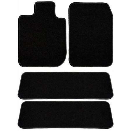 Ggbailey Toyota Highlander Black Classic Carpet Car Mats