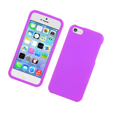 Insten Hard Rubber Coated Cover Case for iPhone