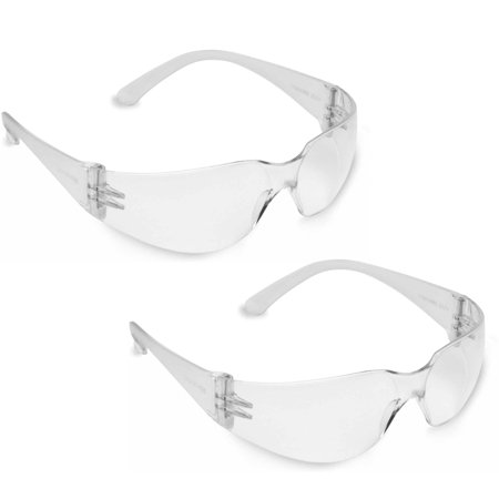Bulldog Safety Glasses with Scratch-Resistant Lenses, 2