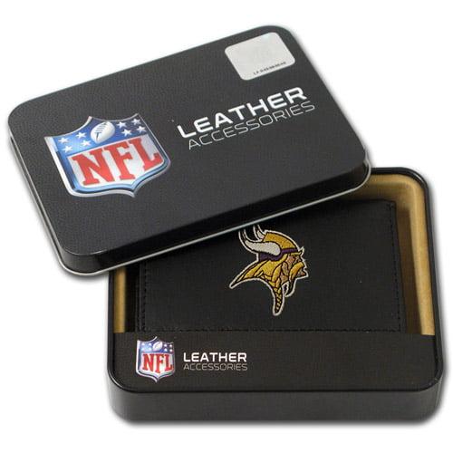 NFL - Men's Minnesota Vikings Embroidered Trifold Wallet