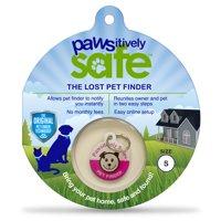 Pawsitively Safe Dog & Cat Pet Tag