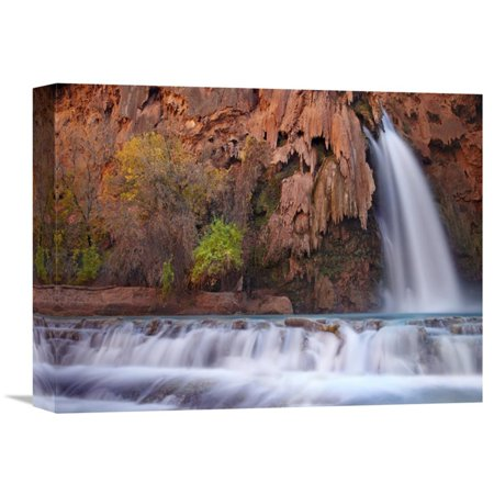 Global Gallery Havasu Falls Grand Canyon Arizona Canvas Wall - Grand Gallery Presents