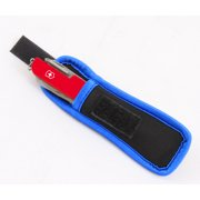 Velcro Pocket Knife Pouch fits Swiss Army Knives Under 4 Inches ; Recommended for Victorinox Swiss Army Knife Classic SD, Tinker, Huntsman, Camper II, Swiss Army Nail Clip 580 and More