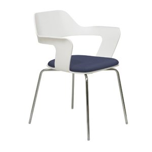 KFI Seating Julep Stacking Chair with Flex Poly Shell