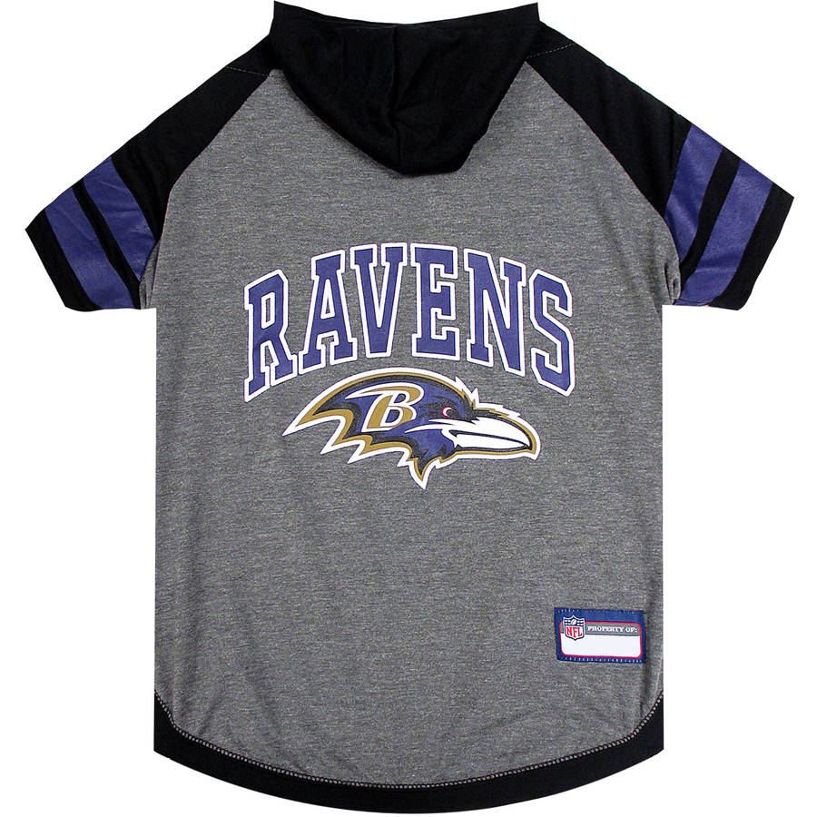 Pets First NFL Baltimore Ravens Pet Hoodie Tee Shirt