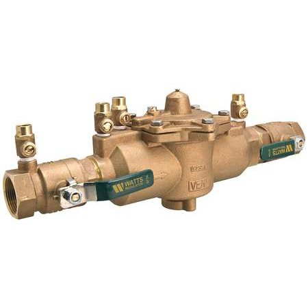 WATTS 2 LF 009QT Reduced Pressure Zone Backflow