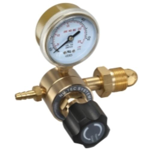 "Mountain 721.0003 1 Gauge Cga580 Welding Gas Regulator And 1/4"" Barb"