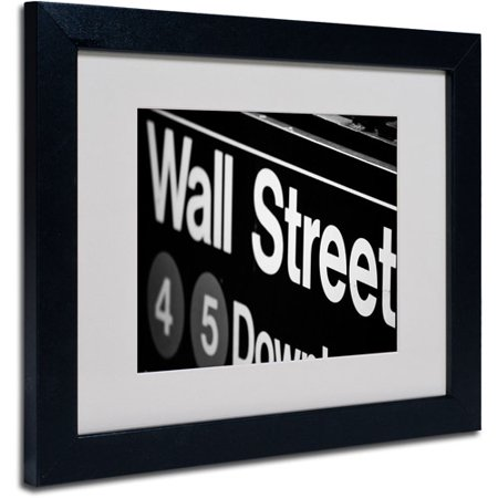 Trademark Art 'Wall Street Next' Matted Framed Art by Yale Gurney
