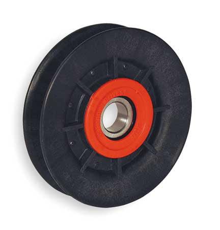 FENNER DRIVES VA3001 V-Belt Idler Pulley, A Belt Type, 3 In O D