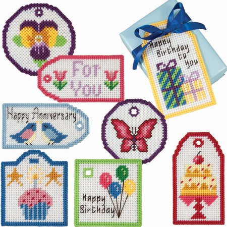 Herrschners® Everyday Gift Tags Plastic Canvas Kit