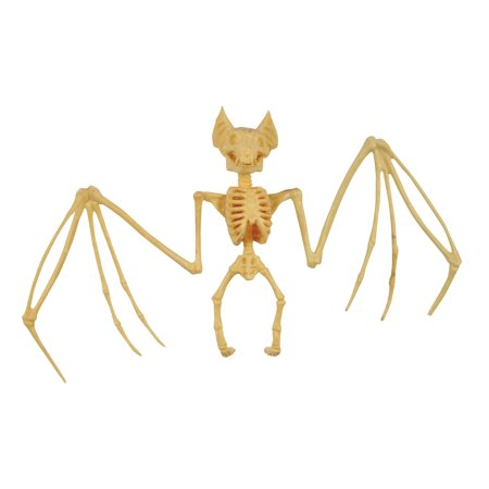 Fun World Halloween Bat Skeleton Hanging Decoration, 11