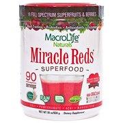 MacroLife Naturals Miracle Reds Superfood - 30oz - 90 Servings