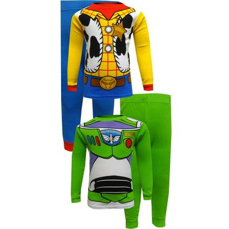 Toy Story Buzz Lightyear and Woody Cotton Infant Pajamas (Toy Story Jessie Pajamas)