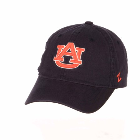 Adult NCAA All-American Relaxed Adjustable Hat (Auburn Tigers - Navy)