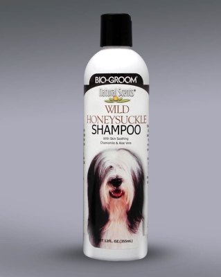 Bio-Groom Natural Scent 28412 Wild Honeysuckle Dog Shampoo, 12 oz by Bio-Groom