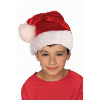 HAT-CHILD VELOUR SANTA - Velour Hat