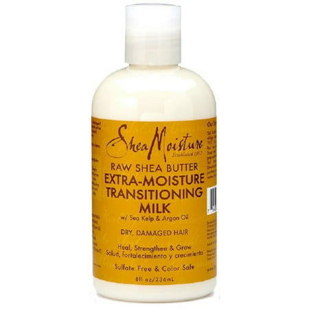 Shea Moisture Raw Shea Butter Extra-Moisture Transitioning Milk 8 oz