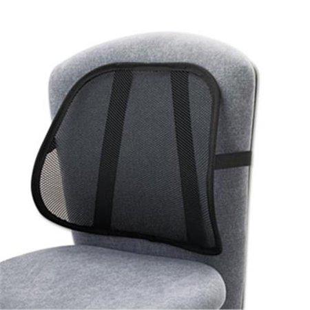 Safco Products 7153BL Mesh Backrest, 17-1/2w x 3-1/8d x 15h, - Safco Mesh Backrest