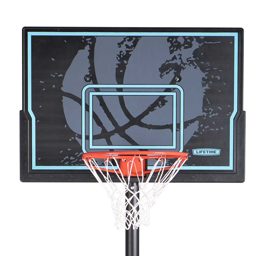 Lifetime 44 Impact Adjustable Portable Basketball Hoop 90759