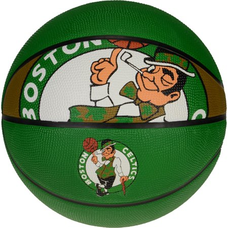 Spalding Boston Celtics Courtside Team Basketball
