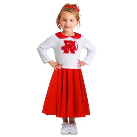 High End Halloween Costumes Toddler (Grease Rydell High Toddler's Cheerleader)