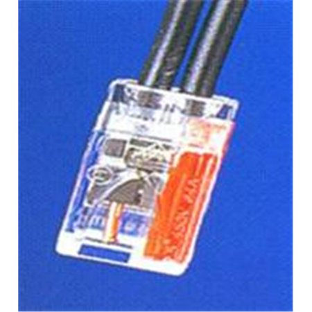 Morris Products 23012 Push-In Wire Connectors 2 Pole Boxed 100 Pack, Pack Of 100 - image 1 of 1