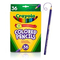 Crayola Colored Pencils, Coloring And School Supplies, 36 Count