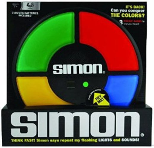 Hasbro Simon Electronic Memory Game by Basic Fun