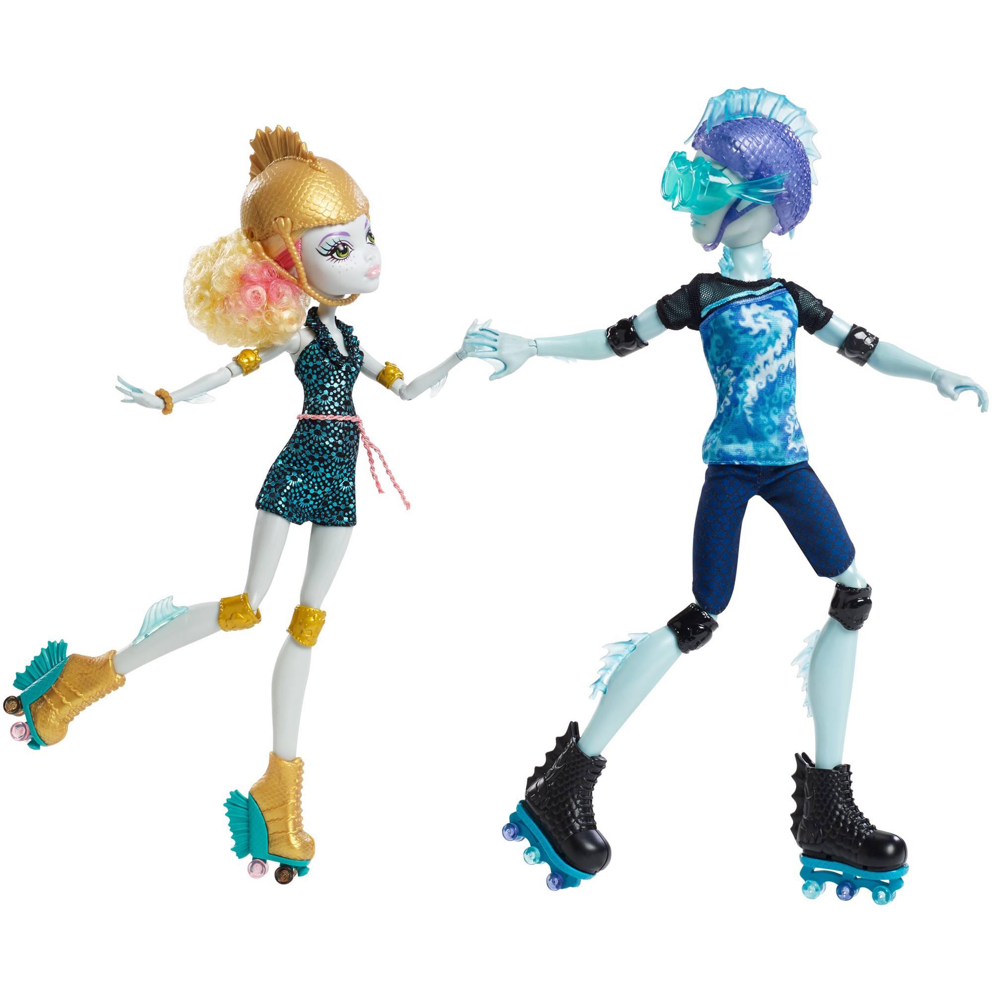Monster High Lagoona Blue and Gil Weber, 2-Pack