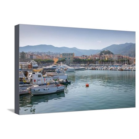 Harbour, Sanremo (San Remo), Liguria, Italy, Europe Stretched Canvas Print Wall Art By Frank
