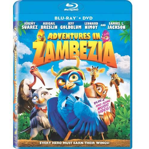 Adventures In Zambezia (Blu-ray + DVD) (Anamorphic Widescreen)