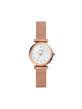 c500bd59e23b Product Image Fossil Carlie Mini Three-Hand Rose Gold-Tone Stainless Steel  Watch