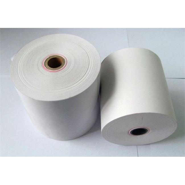 Adorable Supply B300150ESP 1-Ply White Bond Paper Rolls  3 in. x 150 ft.