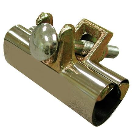 """6"""" Stainless Steel Repair Clamp, Two Bolt, 2-1/2"""" IPS,PartNo R60250 JonesStephen"""