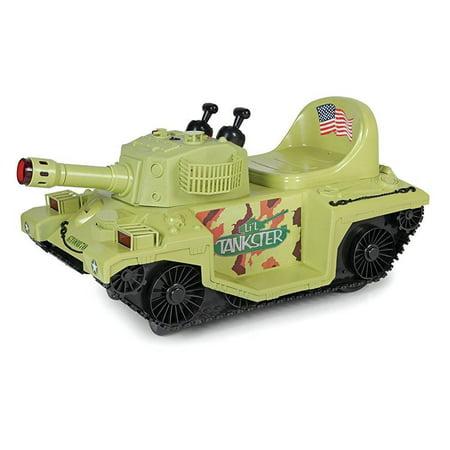 Giggo Toys Li L Tankster Battery Powered Ride On Kids Electric Ride