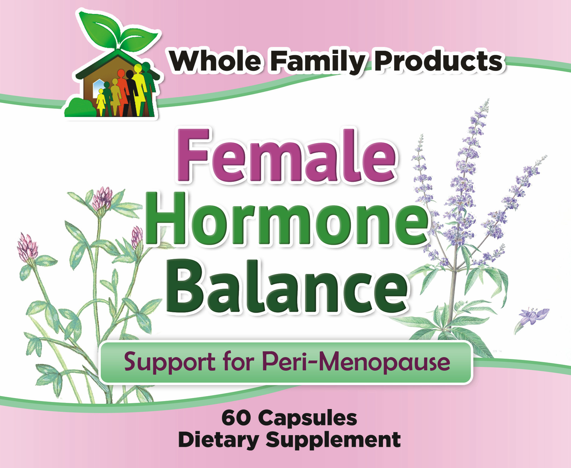 Female Hormone Balance for Perimenopause - Menopause Symptom Support for  Hot Flashes, Night Sweats, and Mood Swings with Black Cohosh and Soy
