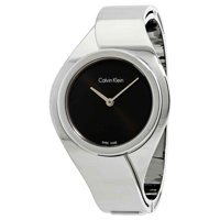 Deals on Calvin Klein K5N2S121 Dial Ladies Small Bangle Watch