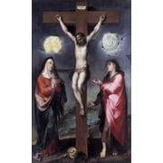 Crucifixion Of Christ (Crocifissione Di Cristo) Stretched Canvas -  (24 x 36)