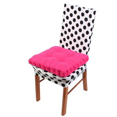 (Home Garden Patio Square Shaped Anti Slip Seat Cushion Chair Pad)