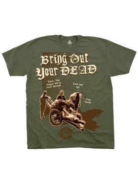 e86d67948 Product Image Monty Python- Bring Out Your Dead Apparel T-Shirt - Green.  Product TitleLiquid BlueMonty ...