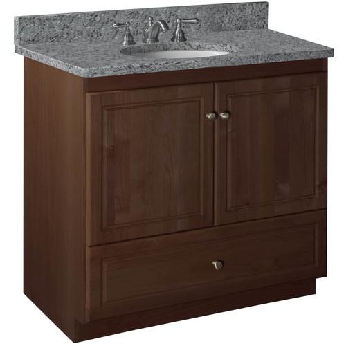 Strasser Woodenworks Simplicity 36'' Bathroom Vanity Base